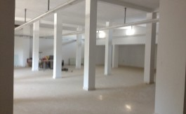 A LOUER MAGASIN 500 M2 DALLE B AROUS